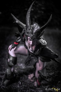 Daedric Armor ,Sexy Mod from Skyrim Ph. ByZa www.byza.it